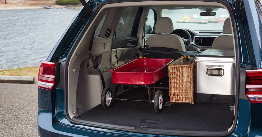 2018 VW Jetta Cargo Space