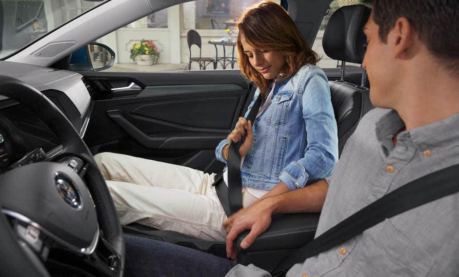 Test Driving a Volkswagen Jetta