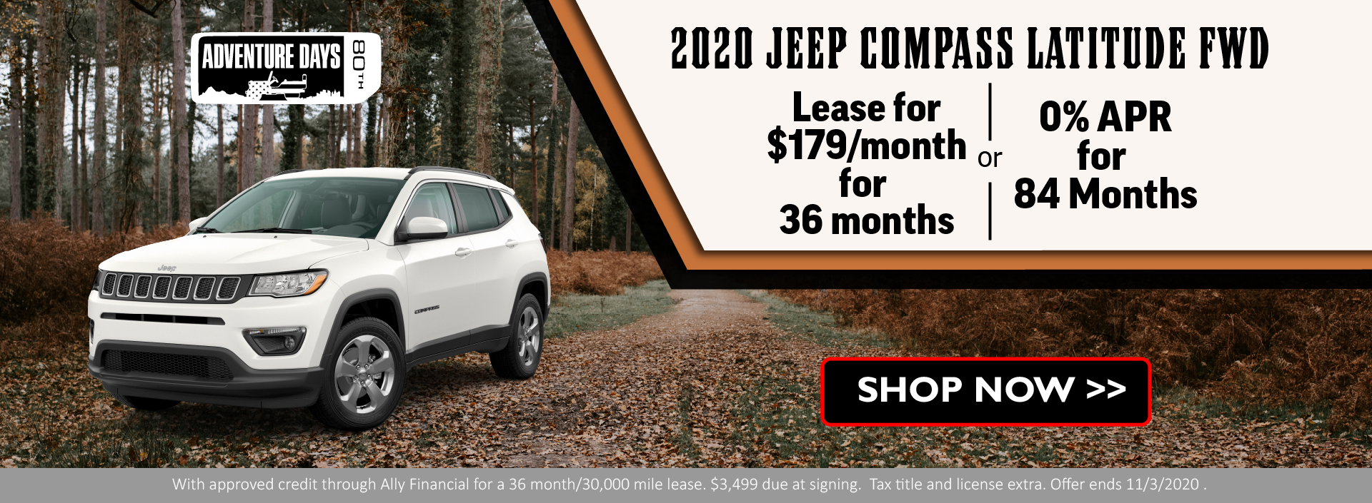 2020 Jeep Compass OCtober FIXED