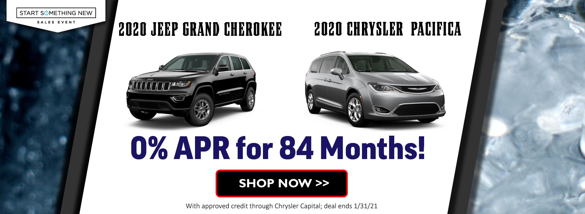 2020 Grand Cherokee and Pacifica January