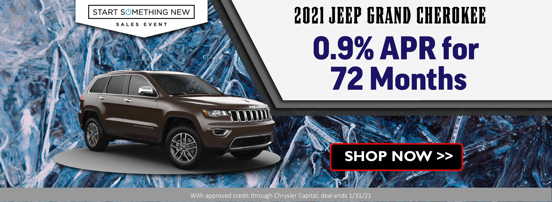 2021 Jeep Grand Cherokee January