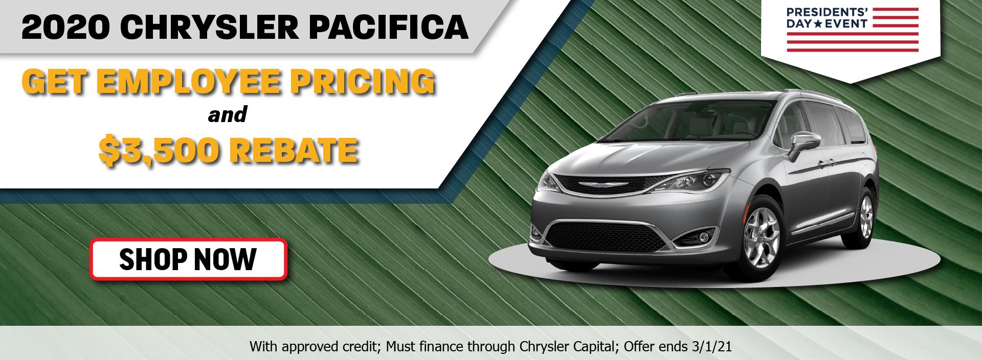 2020 Chrysler Pacifica February