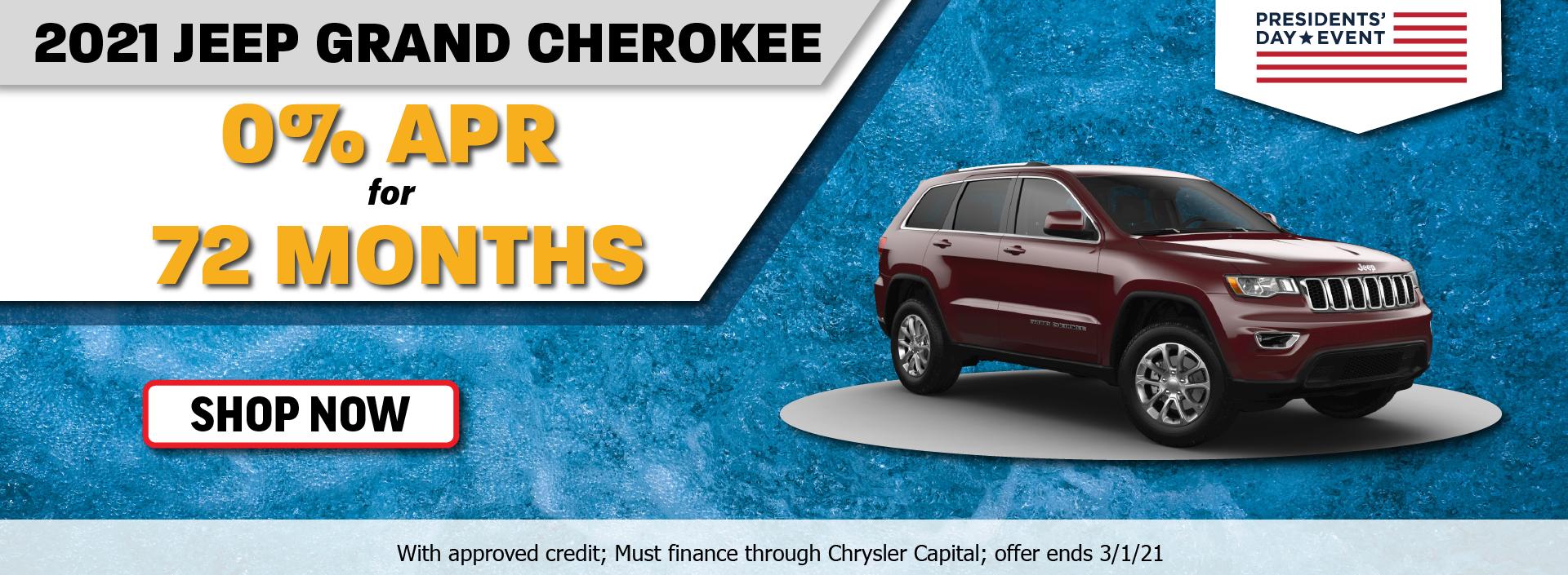 2021 Jeep Grand Cherokee February