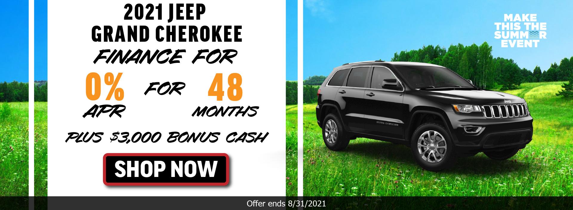 2021 Jeep Grand Cherokee_August