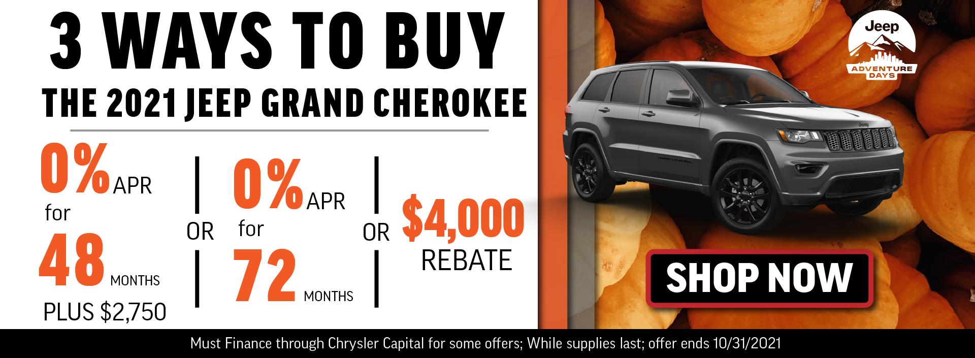 2021 Jeep Grand Cherokee_October