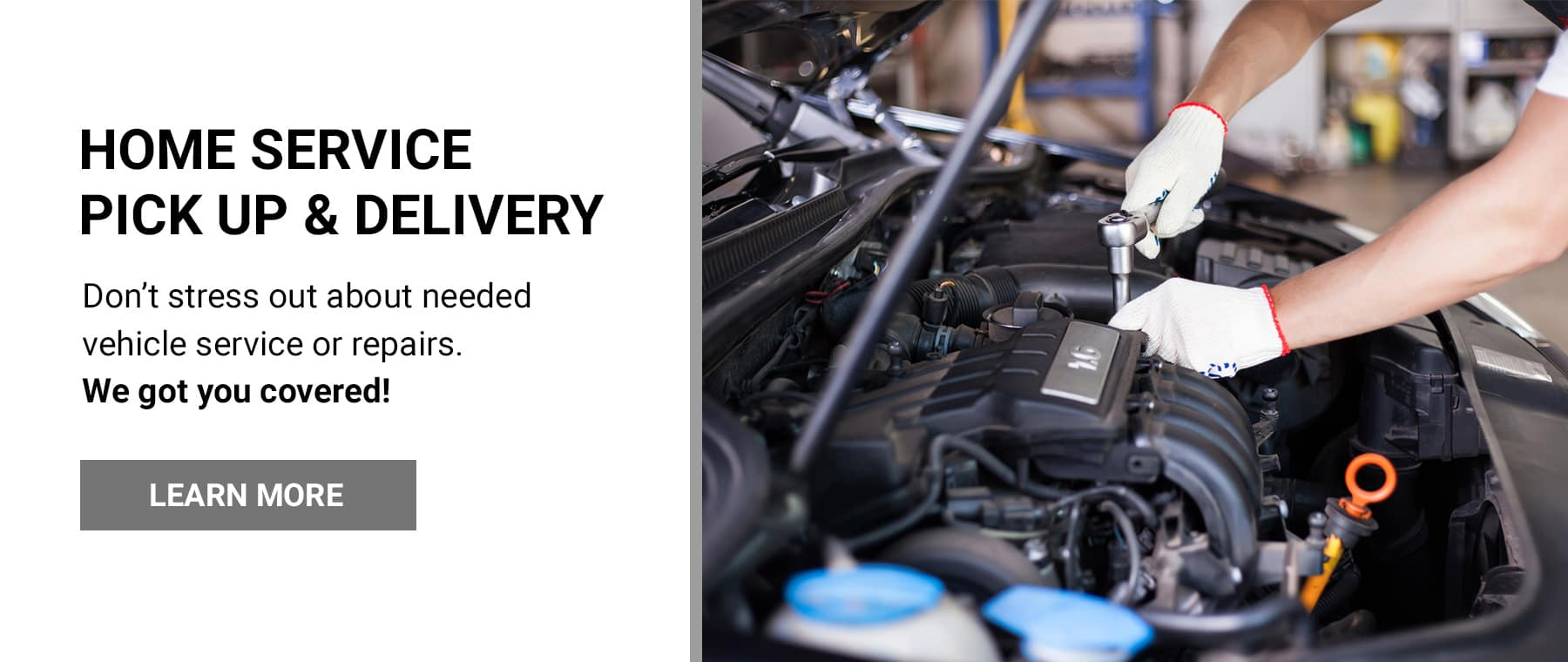 Service Pick Up and Delivery