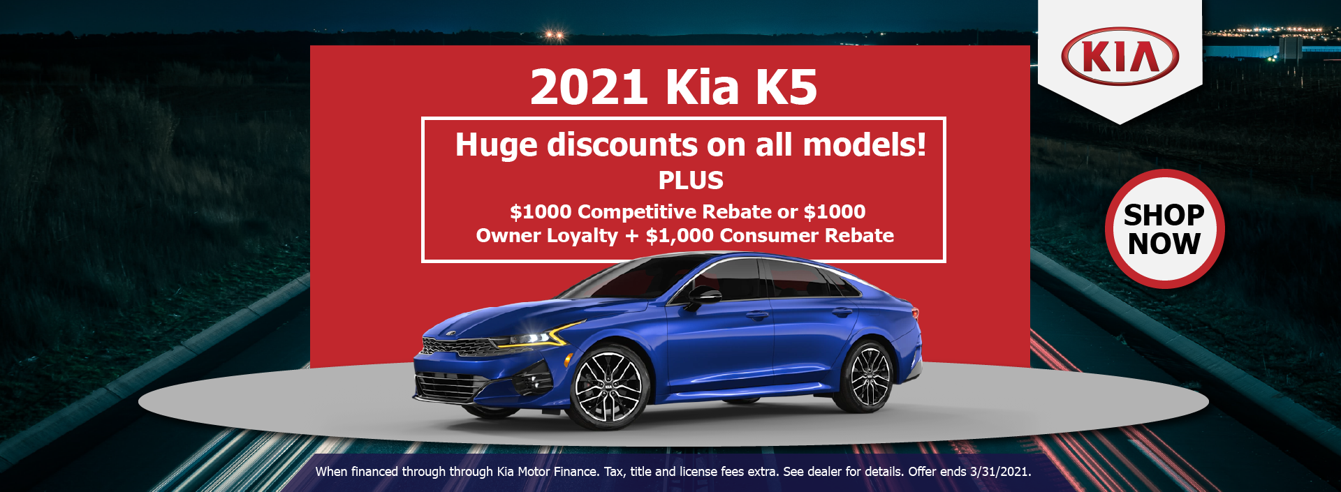 2021 Kia K5 March