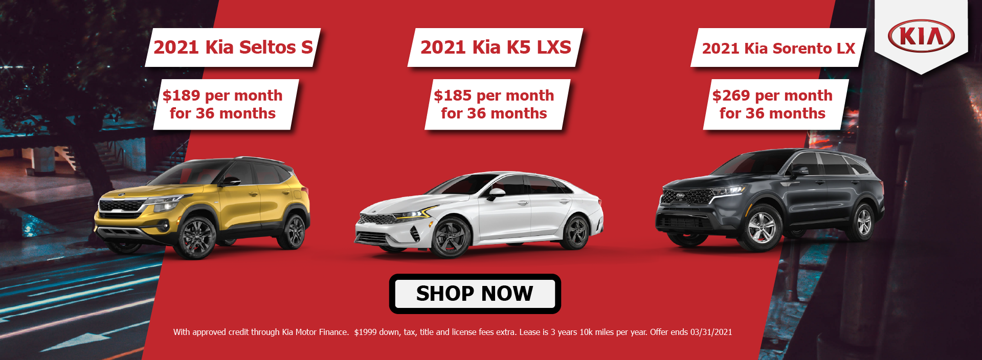 March Lease Offers