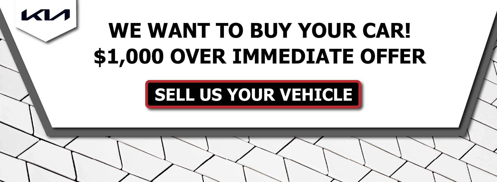 We Want to Buy Your Car_Kia NEW LOGO