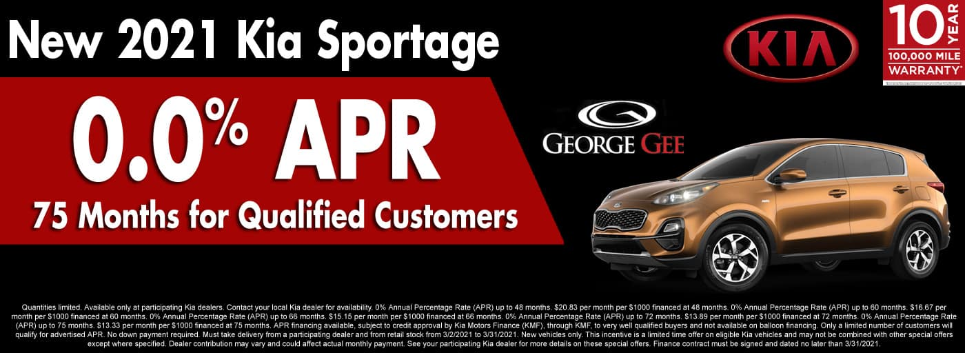 2021 Kia Sportage APR Special