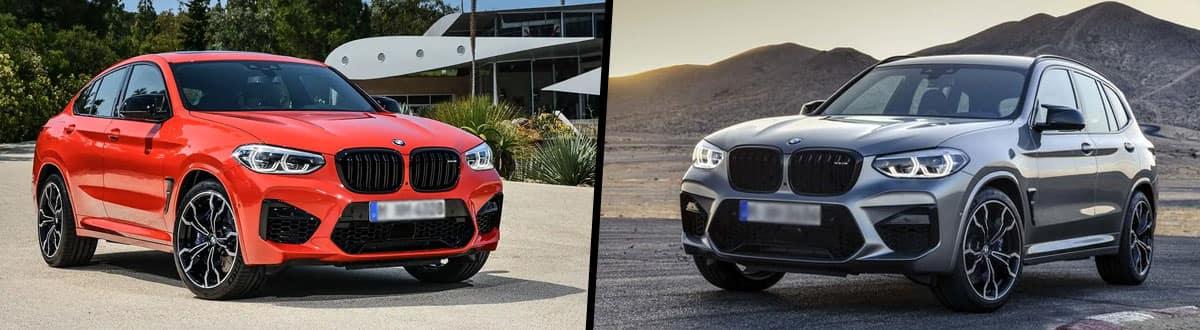 2020 BMW X4 M vs 2020 BMW X3 M
