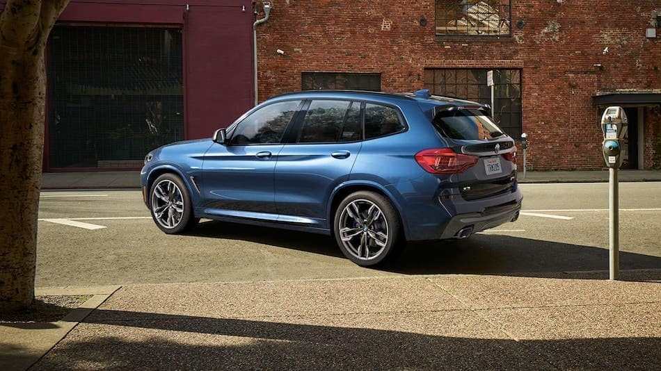 2020 BMW X3 Side Rear Profile