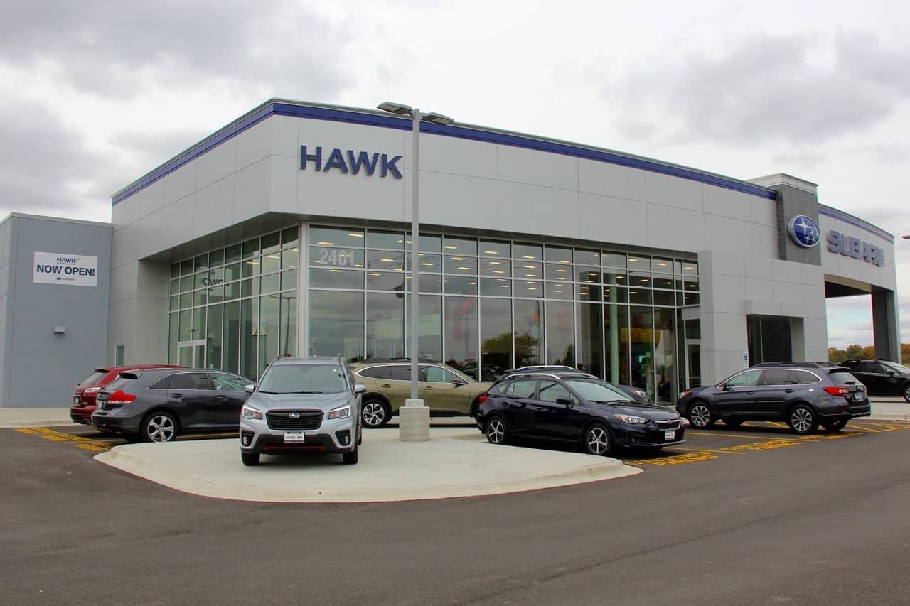 Hawk Subaru Storefront