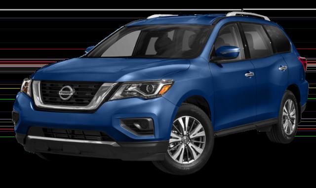 Blue 2019 Nissan Pathfinder