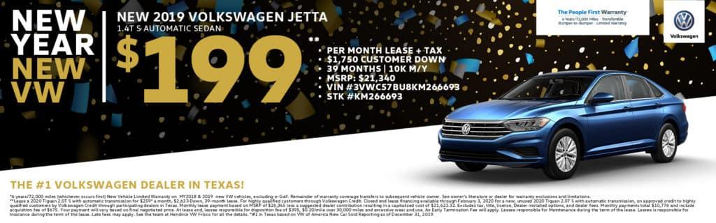 2019 Volkswagen Jetta S Special