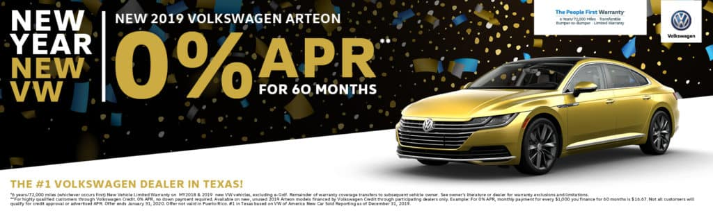 Largest VW Arteon Inventory in Dallas!