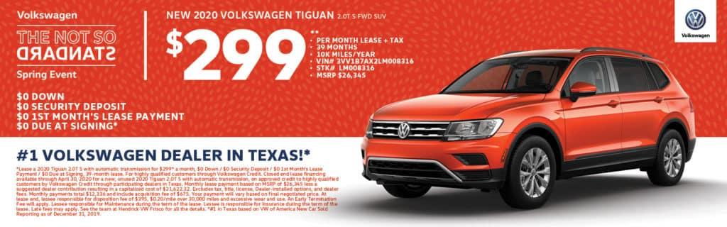 2020 Volkswagen Tiguan S Special