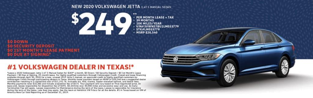 2020 Volkswagen Jetta 1.4T S Manual