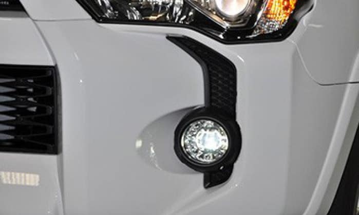 Toyota 4Runner 2-in-1 LED Projector Fog Lights w/LED Daytime Running Lights