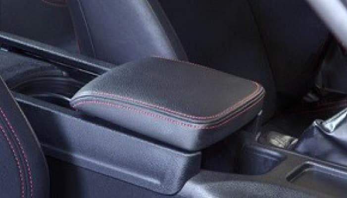2017 Toyota 86 Center Armrest - Red Stitching
