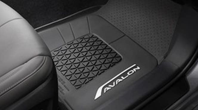 2017 Toyota Avalon All Weather Floor Liners - Black
