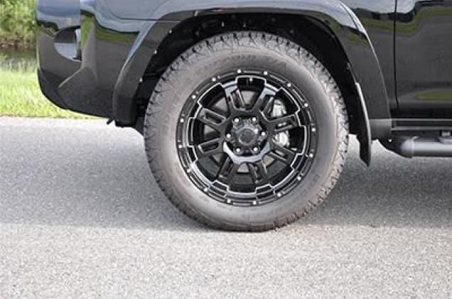 Toyota 4Runner 20 inch Black Gunner
