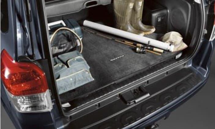 Toyota 4Runner Carpet Cargo Mat - Black