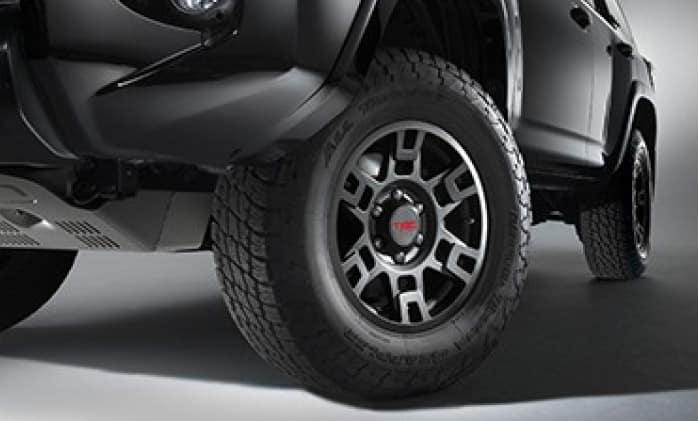 Toyota 4Runner TRD 17 inch Matte Black Alloy