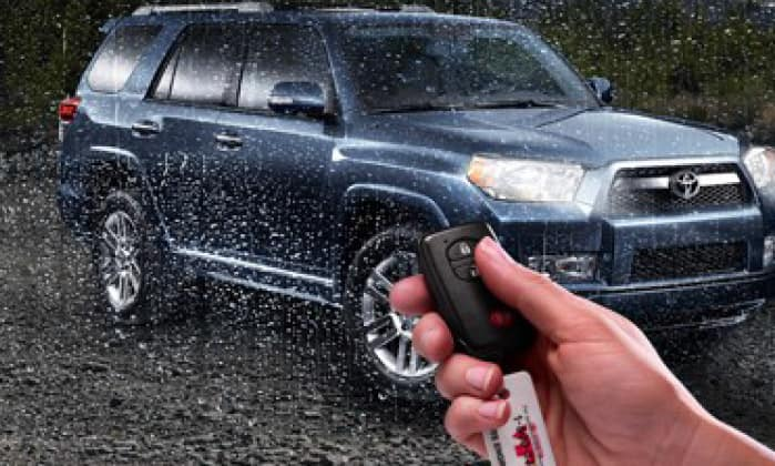 Toyota 4Runner Remote Start