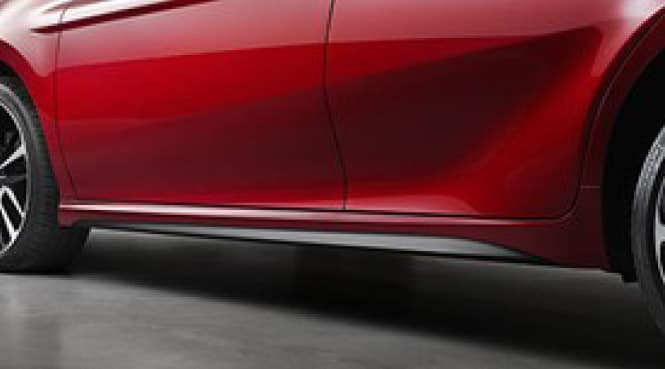 2017 Toyota Camry Rocker Panel Black