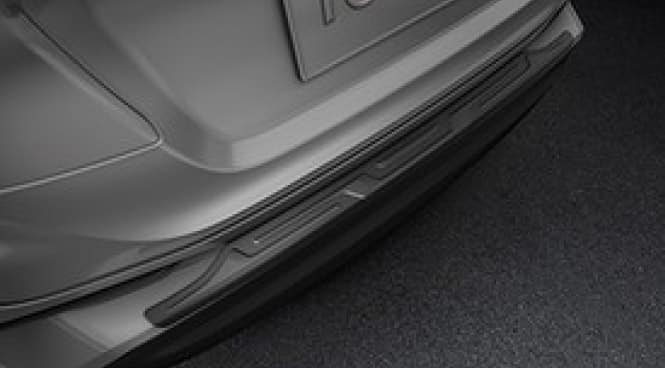2017 Toyota C-HR Rear Bumper Protector