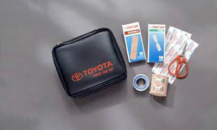 2017 Toyota Corolla First Aid Kit Toyota