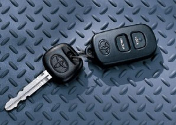 2017 Toyota Corolla Keyless Entry