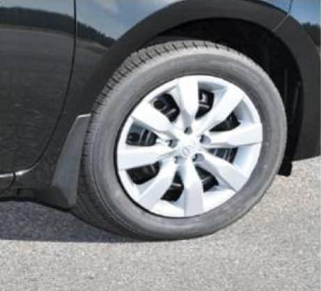 2017 Toyota Corolla Mudguards, Black