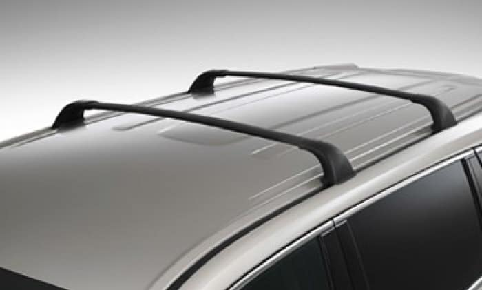 2017 Toyota Highlander Cross Bars