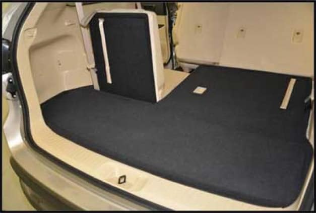 2017 Toyota Highlander Floor Mats - 7PC