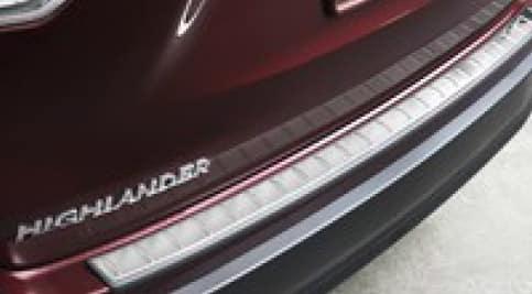 2017 Toyota Highlander Rear Bumper Protector