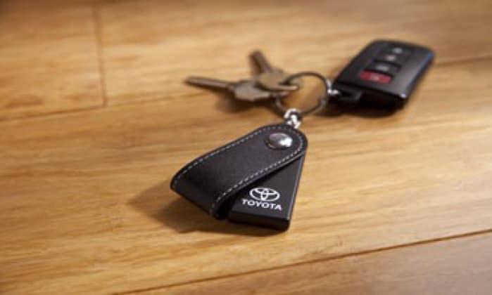 2017 Toyota Highlander Bluetooth Key Finder