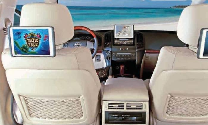 2017 Toyota Highlander Universal Tablet Holder