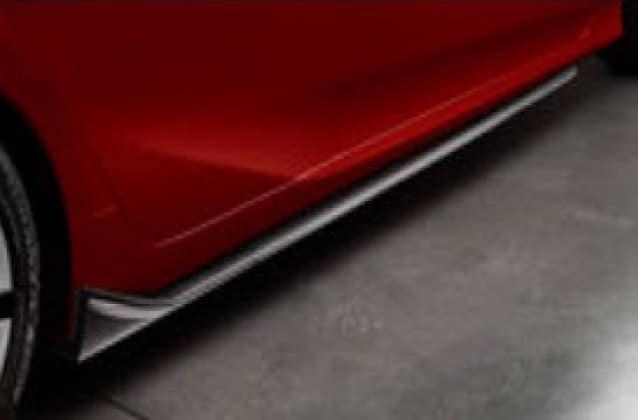 2017 Toyota Prius Aero Side Splitter