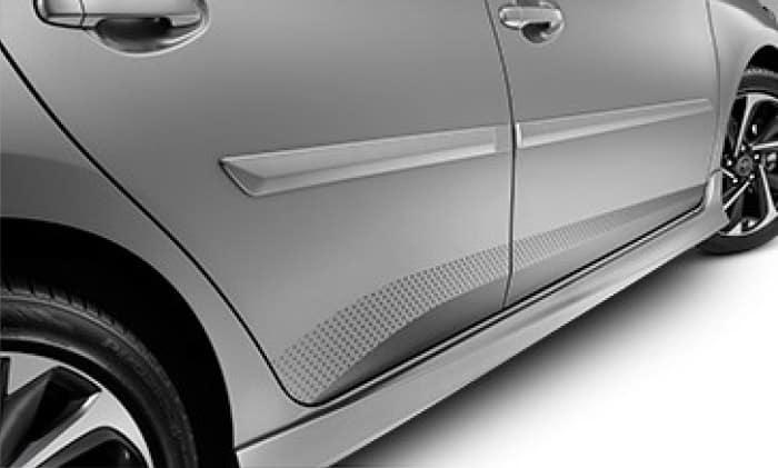 2017 Toyota Prius C Body Side Molding - 0070