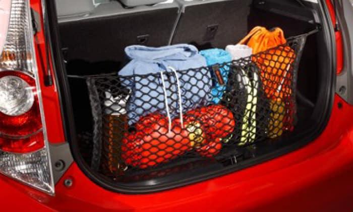2017 Toyota Prius C Cargo Net
