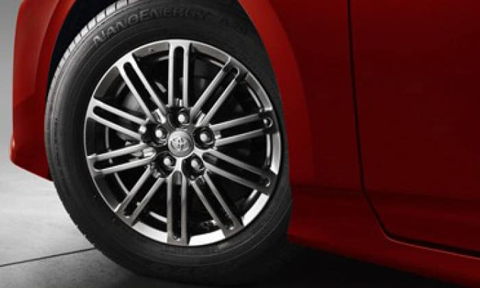 2017 Toyota Prius Prime 15inch 10-Spoke Alloys Wheels