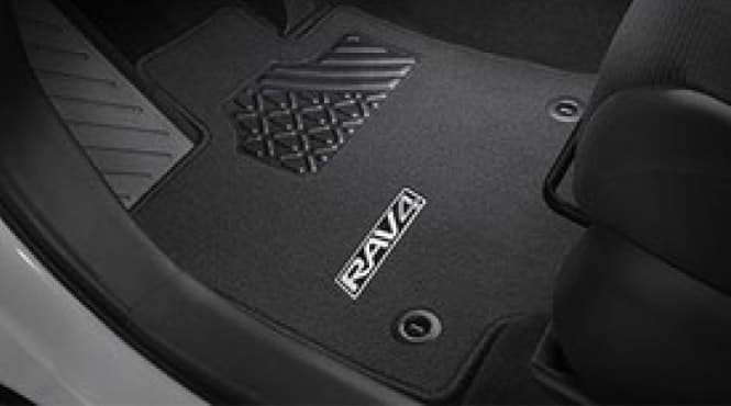 2017 Toyota Rav4 Carpet Floor Mats