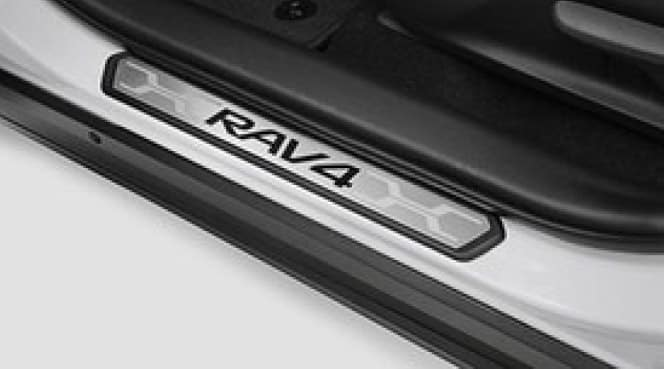 2017 Toyota Rav4 Door Sill Protectors - Drive Side and Passenger Side