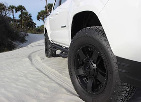 2019 Toyota Tacoma 4X4 17inch Rockstar Wheels ( tires not included )