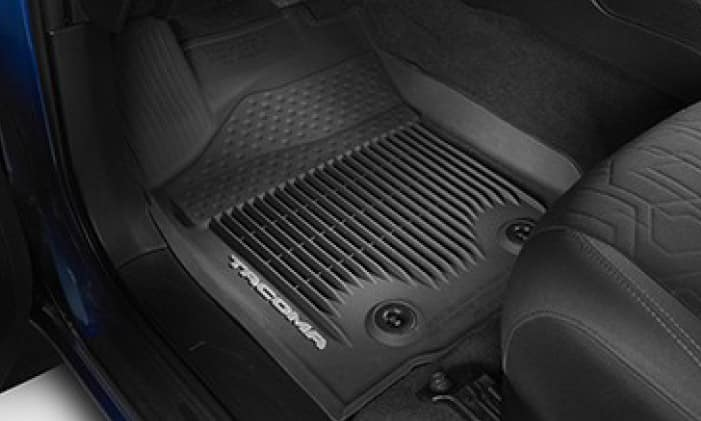 2019 Toyota Tacoma 4X4 All Weather Floor Liners - Black