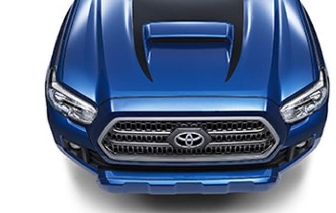 2019 Toyota Tacoma 4X4 Hood Graphics