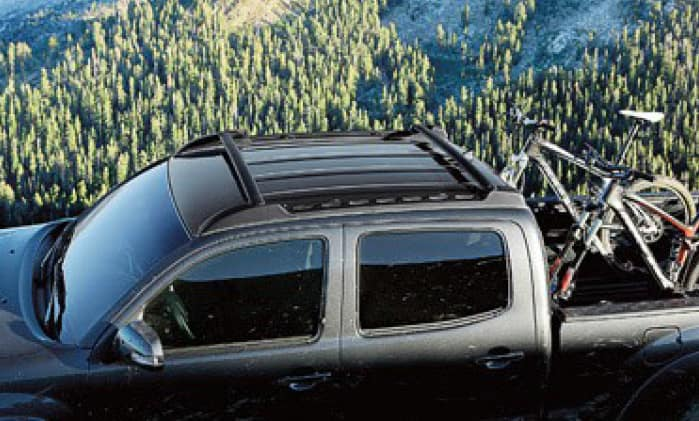 2019 Toyota Tacoma 4X4 Roof Rack - Double Cab