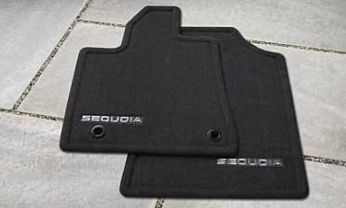 2019 Toyota Sequoia Floor Mats - Carpet - Pass Through